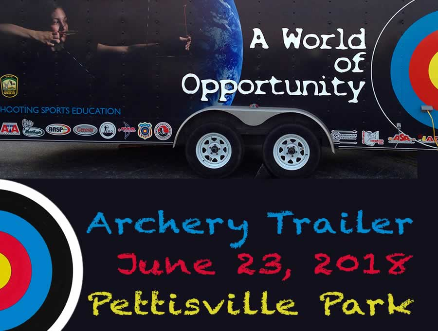 Archery Trailer Ohio DNR Wildlife Division
