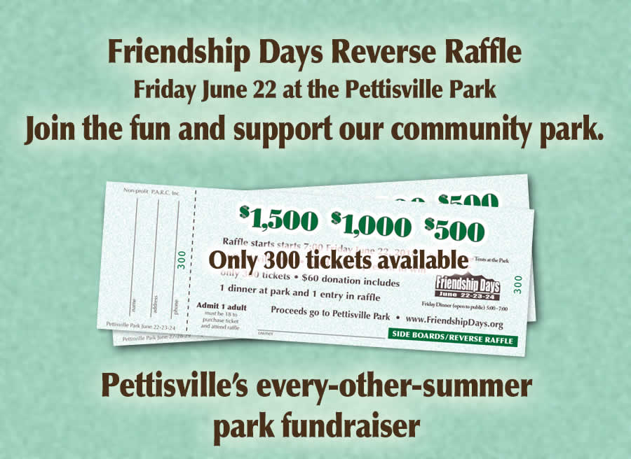 Reverse Raffle Friendship Days