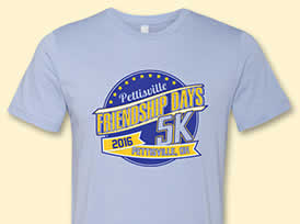 5K T-shirts for 2016
